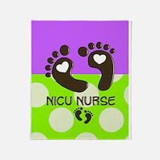 NICU Nurse Throw Blanket