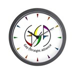 GSA Spin Wall Clock
