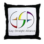GSA Spin Throw Pillow