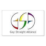 GSA Spin Rectangle Sticker