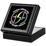 GSA Spin Black Keepsake Box