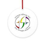 GSA Spin Ornament (Round)