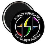 """GSA Spin Black 2.25"""" Magnet (100 pack)"""