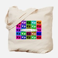 Neonatologist Nurse popart Bags Tote Bag