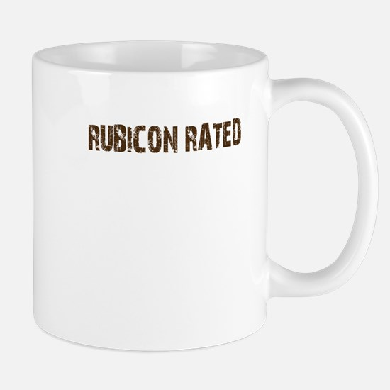 Rubicon Rated. 4wd off road Mug