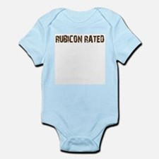 Rubicon Rated. 4wd off road Infant Bodysuit
