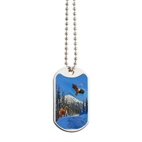 Eagle and Weasel Dog Tags
