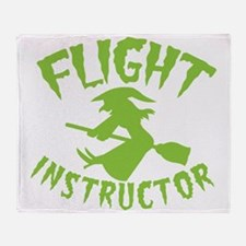 Flight instructor wickedy witch on a broomstick Th