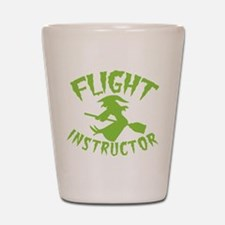 Flight instructor wickedy witch on a broomstick Sh