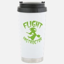 Flight instructor wickedy witch on a broomstick Ce