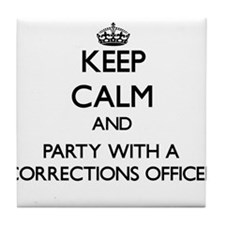Keep Calm and Party With a Corrections Officer Til