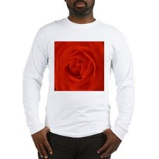 red rose of love Long Sleeve T-Shirt