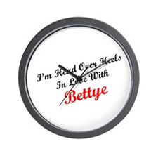 In Love with Bettye Wall Clock