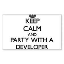 Keep Calm and Party With a Developer Decal