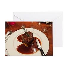 Roast Fillet of Beef Greeting Card
