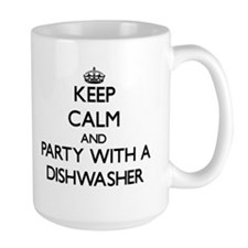Keep Calm and Party With a Dishwasher Mugs