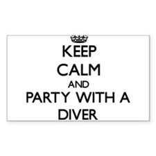Keep Calm and Party With a Diver Decal
