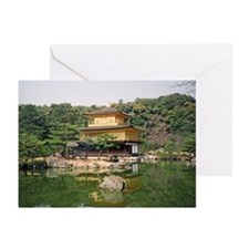 Kinkaku-ji Greeting Cards