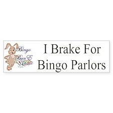Bingo BunE Bumper Bumper Sticker