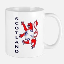 Lion rampant Scotland football Mugs