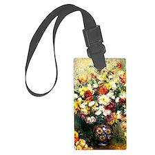 Renoir - Vase of Chrysanthemums Luggage Tag