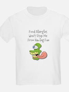 Food Allergies Wont Stop Me From Having Fun T-Shir