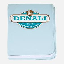 Denali National Park baby blanket