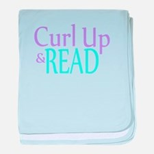 Curl Up and Read baby blanket