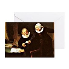 Rembrandt - The Shipbuilder and his  Greeting Card