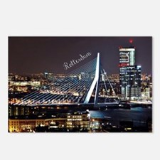 Rotterdam cityscape Postcards (Package of 8)