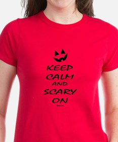 Scary On T-Shirt