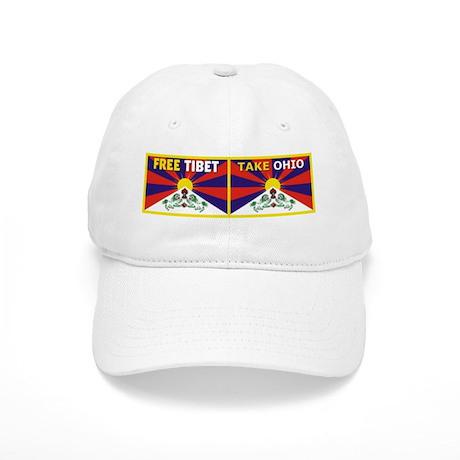 Free Tibet - Take Ohio Baseball Cap
