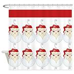 Santa Claus Art Shower Curtain