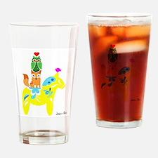 Dala and Friends Drinking Glass