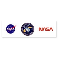 STS-82 Discovery Bumper Sticker