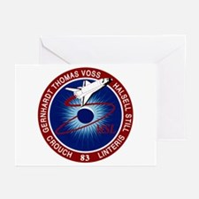 STS-83 Columbia Greeting Cards (Pk of 10)