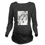 Bamboo Long Sleeve Maternity T-Shirt
