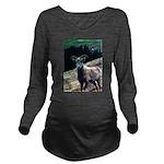Mountain Sheep Long Sleeve Maternity T-Shirt