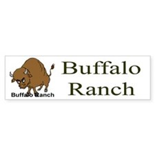 Buffalo Ranch Bumper Bumper Sticker