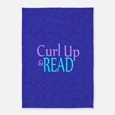 Curl Up and Read 5'x7'Area Rug