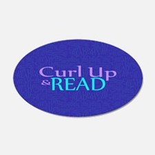Curl Up and Read Wall Decal