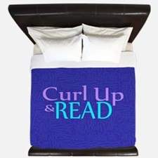 Curl Up and Read King Duvet