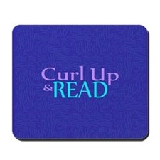 Curl Up and Read Mousepad