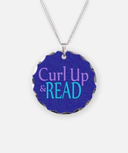 Curl Up and Read Necklace