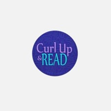 Curl Up and Read Mini Button (100 pack)