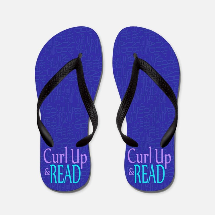 Curl Up and Read Flip Flops
