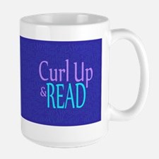 Curl Up and Read Large Mug