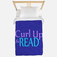 Curl Up and Read Twin Duvet