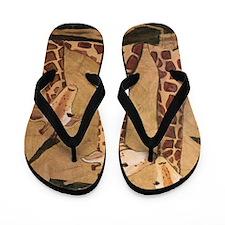 GIRAFFE FAMILY Flip Flops