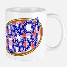 Lunch Lady Design Mugs